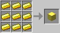 Craft Gold Block